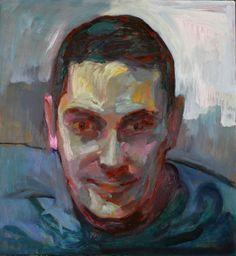 Rubén, óleo-tabla, 34'7x32'3 cm.