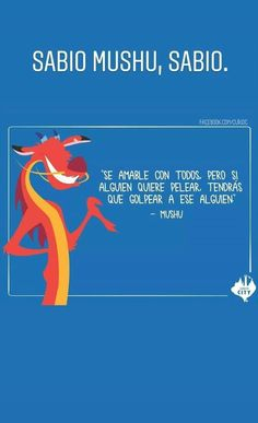 Mushu Mulan, Disney And More, Disney Love, Best Quotes, Funny Quotes, Life Quotes, Disney Movie Quotes, Pretty Quotes, Cool Words