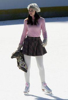 Blair ice skating