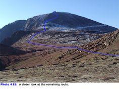 14ers.com • Pikes Peak | Route Description | Northwest Slopes