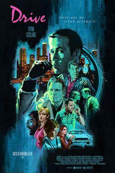 Posters / Prints | Mad Duck Posters Classic Movie Posters, Film Posters, Drive Movie Poster, Duck Art, Cant Help Falling In Love, Carey Mulligan, Alternative Movie Posters, Ryan Gosling, Blade Runner