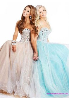 For before the dance pictures...not to mention how beautiful their dresses are!
