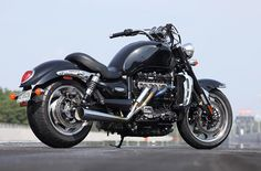 Carpenter Racing's 240hp Triumph Rocket III Roadster with 240hp. Click image to learn more fro Rider magazine.