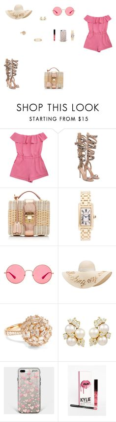 """""""Look do Dia"""" by julianaf121 ❤ liked on Polyvore featuring Mark Cross, Cartier, Ray-Ban, Eugenia Kim, Tiffany & Co. and Suzanne Kalan"""