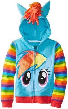My Little Pony Big Girls' Rainbow Dash Costume Hoodie, Blue Multi, 7/Small Freeze http://www.amazon.com/dp/B00F59HKUO/ref=cm_sw_r_pi_dp_IZyjvb05RTT1Y