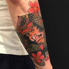 Japanese style tattoo by Three Tides Tattoo Kite Tattoo, Japanese Style, Top Artists, Cool Tattoos, Traditional Tattoos, Japanese Tattoos, Kites, Ios App, Samurai