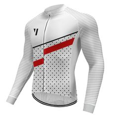 Mens Cycling Jersey MTB Team Bike Tops Quick Dry Sportswear Long Sleeve Shirts