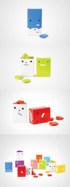 Gubble bum: your daily #packaging smile PD : )