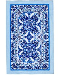 Dolce & Gabbana | Majolica-Print Towel |  Lyst