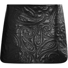 Alexander Wang Paisley Quilted Liner Skirt ($1,150) ❤ liked on Polyvore featuring skirts, alexander wang, metropolis, paisley print skirt, paisley skirt, quilted skirt and alexander wang skirt