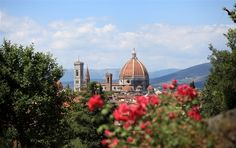 The Duomo is easily recognized by its massive red dome. Florence, Europe