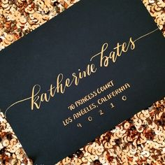 This font called Stylish has become so popular among brides lately! The font of the year for sure!!