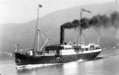 "[D/S ""Kommandøren"", ca. Steam Boats, Steamers, Submarines, Ship Art, Sailing Ships, Fun, Ships, Sailboat, Tall Ships"