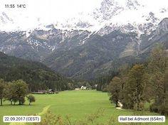 Webcam des Tages A-8911 Hall bei Admont 682m. Alpenregion Nationalpark Gesäuse - Bewegen in der Natur und Kultur.