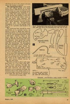 Free DIY Bow plans, Arrow making instructions, Plans, Archery Info and All about Archery: Free Pistol Crossbow DIY Plan and Instructions Crossbow Parts, Diy Crossbow, Crossbow Arrows, Crossbow Hunting, Survival Weapons, Survival Skills, Survival Gear, Tactical Survival, Survival Prepping