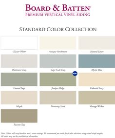 Board and batten vinyl siding gentek building products for Vertical siding options