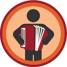 Lifescouts: Accordion Badge