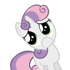 """""""You don't want to spend time with me *squee*""""-Sweetie Belle"""