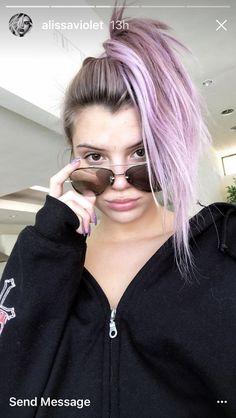 Alissa Violet Hair 2017