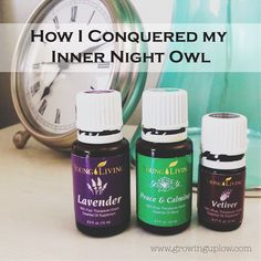 I *used* to be a troubled sleeper, but once I found this combination of Young Living oils, I began sleeping through the night for the first time in years! My problem was not that I couldn't fall asleep, it was that I couldn't stay asleep.
