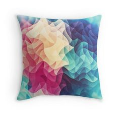 #Geometry #Triangle #Wave #Multicolor #Mosaic #Pattern #pillow @Redbubble http://ift.tt/2cvvyLx #redbubble #Colorful #homedesign #homedecor #mosaik #pattern #Pride #Rainbow #Spectrum #gifts #giftidea #giftforhim #designer #design #designergifts #artgift