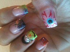 My Halloween nails!