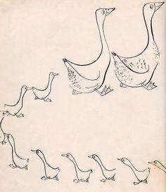 Petunia's Christmas written & illustrated by Roger Duvoisin (1952).