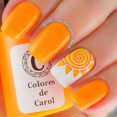 Every Woman Should Look: Nail Designs and Health 2019 Simple & Easy Summer Nails Design & Ideen 2017 – Nageldesign # … Summery Nails, Bright Summer Nails, Simple Nails, Nail Summer, Summer Vacation Nails, Summer Colors, Spring Nails, Trendy Nails, Cute Nails