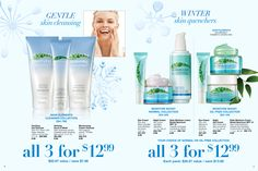 Winter Skin Quenchers! Dont let your skin dry out this winter! #SkincareSunday! www.youravon.com/joylehman