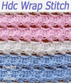 Crochet Crafts, Easy Crochet, Crochet Hooks, Crochet Projects, Free Crochet, Crochet Tutorials, Free Tutorials, Crochet Stitches Free, Afghan Crochet Patterns