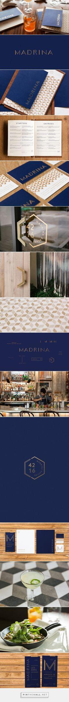 Madrina Restaurant Branding by Mast | Fivestar Branding – Design and Branding Agency & Inspiration Gallery