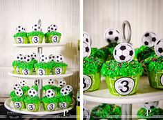 See related links to what you are looking for. Soccer Birthday Parties, Soccer Party, Soccer Decor, Soccer Kits, Yoshi, Birthdays, Baby Shower, Crafty, Projects