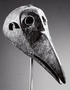 Mask: Bird Bamana peoples