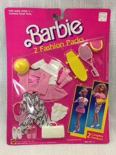 Tennis and Skateboarding outfits. Barbie 80s, Barbie Dolls Diy, Doll Clothes Barbie, Barbie And Ken, Diy Doll, Vintage Barbie Clothes, Vintage Toys, Skateboard Outfits, Skater Guys