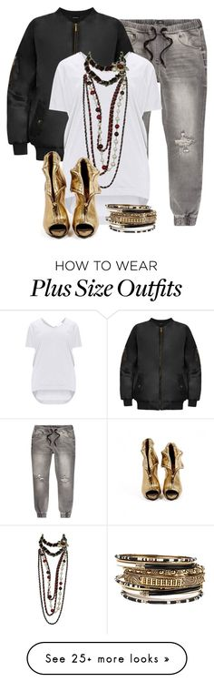"""""""Untitled #2474"""" by hope-houston on Polyvore featuring WearAll, Amrita Singh, Chanel and Alexander McQueen"""