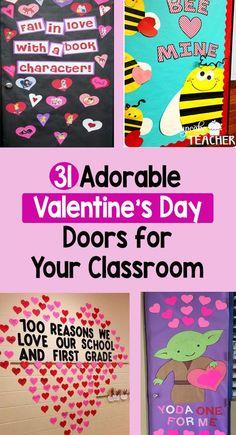 31 Adorable Valentine's Day Doors for Your Classroom – Bored Teachers