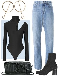 4 Chic Outfits That Prove Bodysuits Work For Every Occasion - FOR A NIGHT OUT from InStyle.com