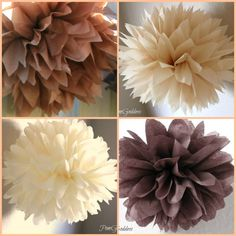 8 Paper poms Rustic Wedding Decorations Ceremony by PomGoddess Rustic Wedding, Our Wedding, Dream Wedding, Youre My Person Gift, Wedding Crafts, Ceremony Decorations, Here Comes The Bride, 50th Birthday, Wedding Designs