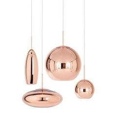 The Copper Shade Wide Pendant Light is the newest member of the Copper family from Tom Dixon. Copper Lamps, Copper Lighting, Home Lighting, Chandelier Lighting, Modern Lighting, Lighting Design, Lighting Ideas, Kitchen Lighting Fixtures, Light Fixtures