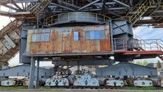 Lost Places der Industriekultur - Ferropolis - Burgdame Lost, Places, Steel Sculpture, Steel Mill, Lugares