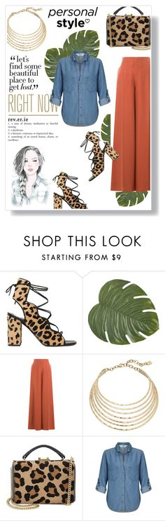 """Colors."" by zeljkaa ❤ liked on Polyvore featuring GE, Yves Saint Laurent, Pier 1 Imports, Valentino, Robert Lee Morris, Mark Cross and Miss Selfridge"