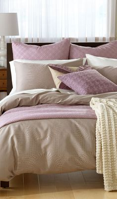 Nordstrom Raindrops Collection #bedroom #bedding