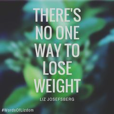 Weight loss what works for each person is as individual as their own…