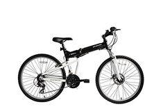 ECOSMO 26″Wheels New Aluminium Folding MTB Bicycle Bike SHIMANO- 26AF18BL