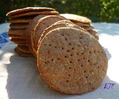 Az áfonya mámora: Skandináv ropogós kenyér 6g friss élesztő,rozsliszt