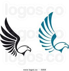 bird wing logo google search logos design corporate identity rh pinterest com logos wing angel wing logos for sale