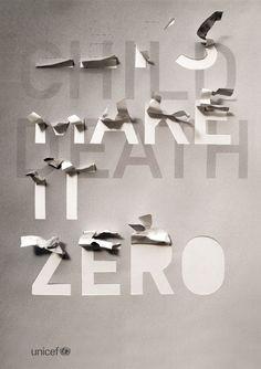 Let's make it Zero UNICEF Campaign