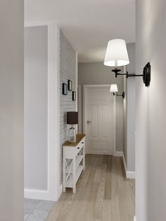 Lovely Mid Century Modern Hallway