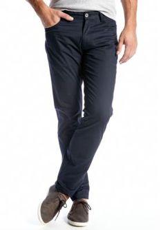 Calvin Klein Officer  Navy Slim Fit Flat Front Pants