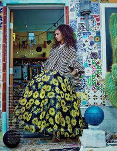 Malaika Firth by Emma Summerton for Vogue Japan July 2014